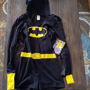 Batgirl pajama with cape